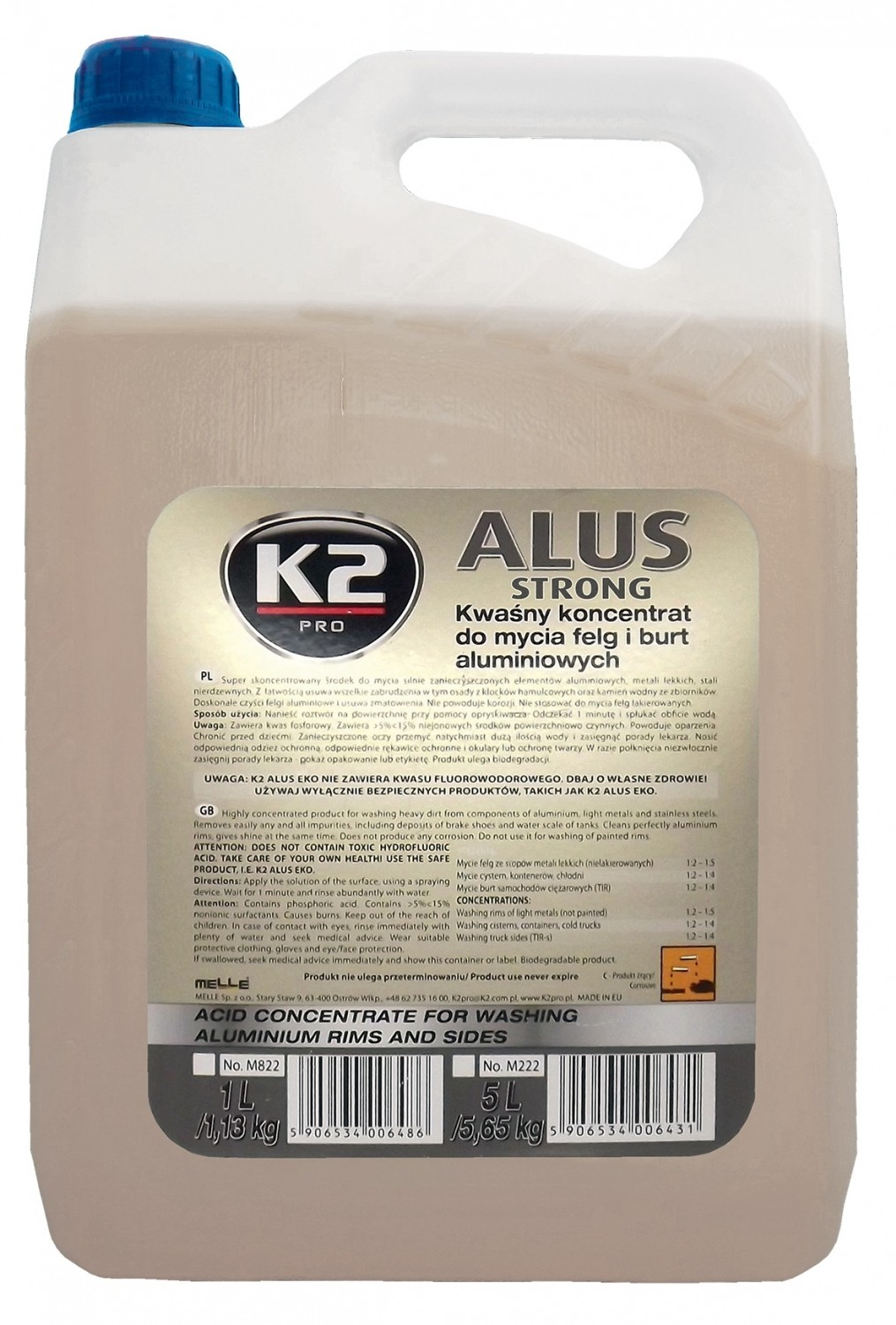 K2 ALUS STRONG 5 L