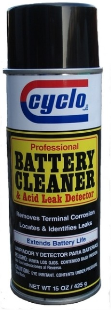 C120 BATTERY CLEANER&ACID LEAK DETECTOR