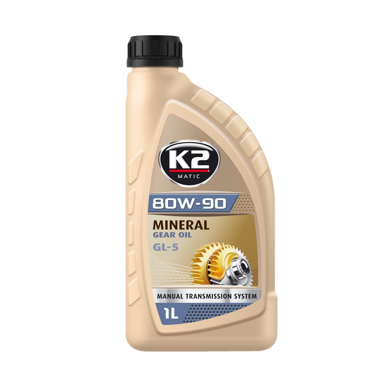 K2 80W-90 GL5 GL4 1L