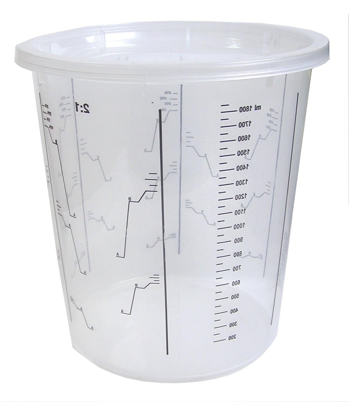 K2 KUBEK LAKIERNICZY 1300 ml z podziałką