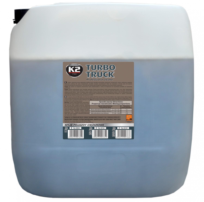 K2 TURBO TRUCK 25 KG