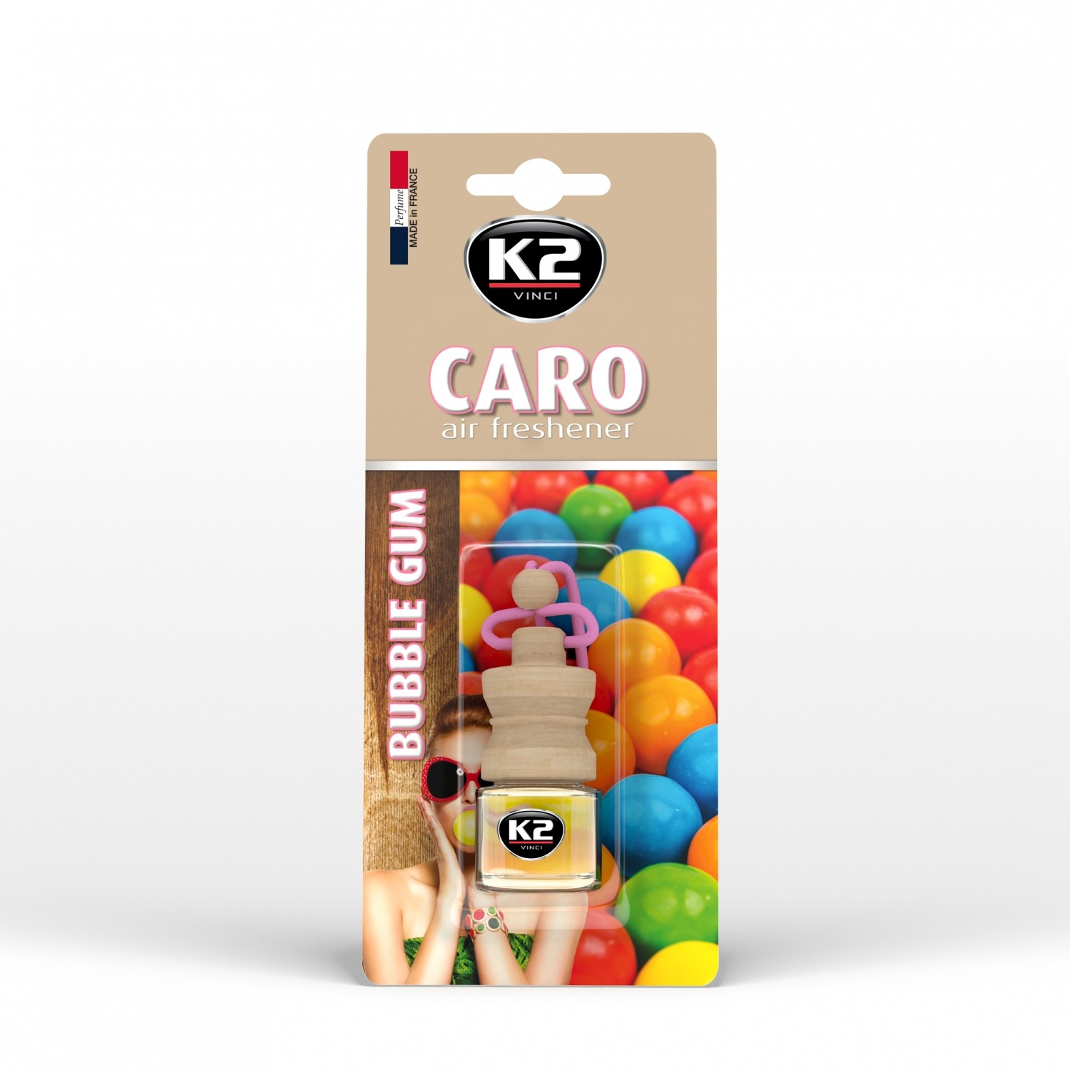K2 CARO BUBBLE GUM 4 ML
