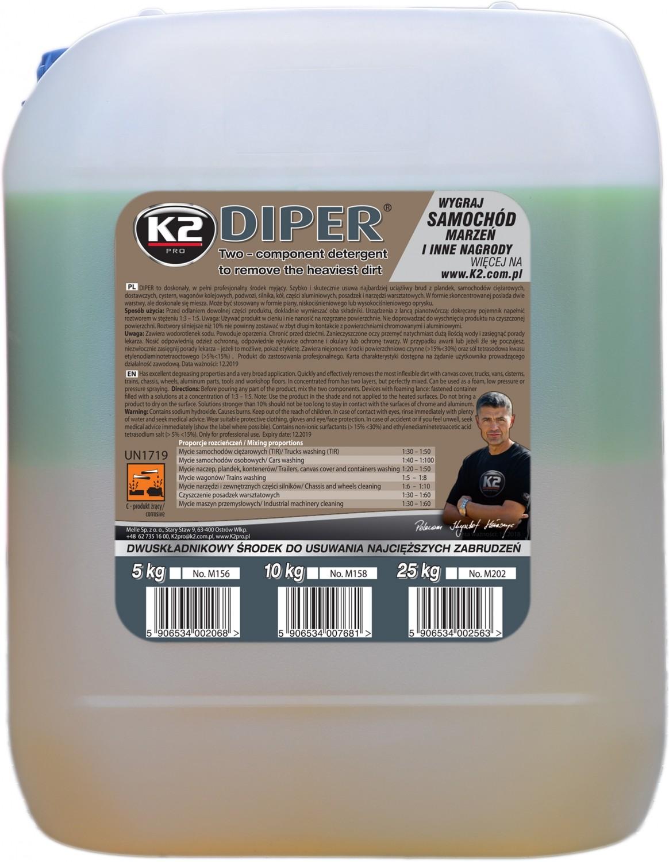 K2 DIPER 10 KG