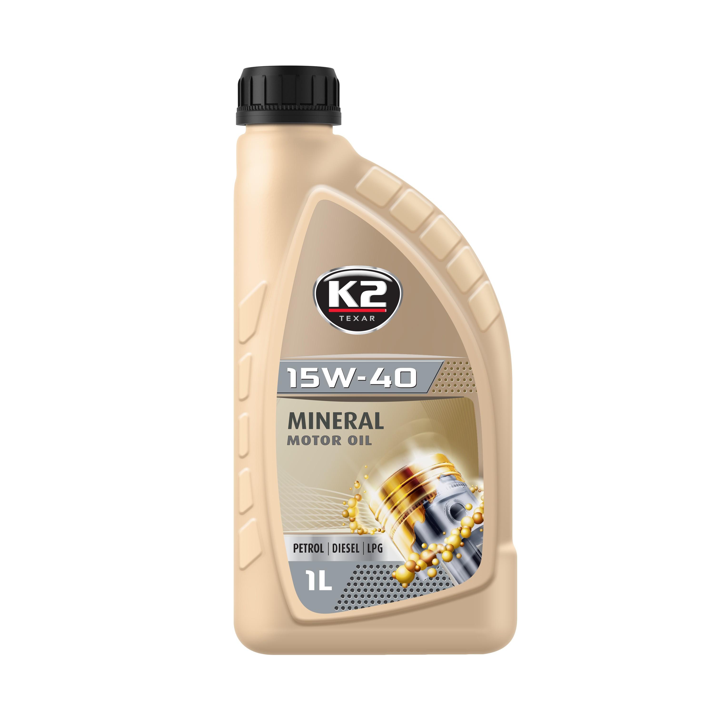 K2 TEXAR 15W40 1L