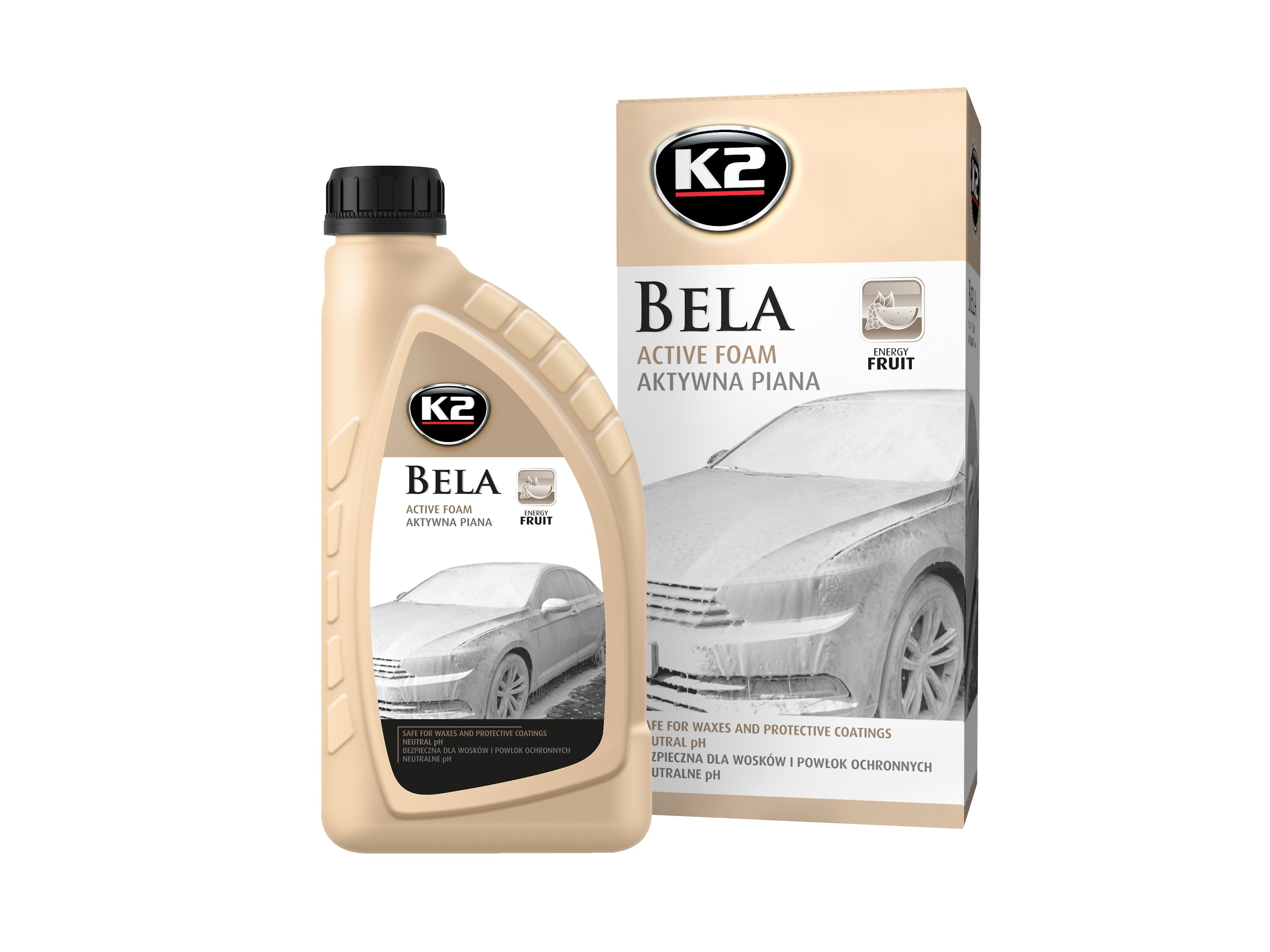 K2 BELA 1L ENERGY FRUIT