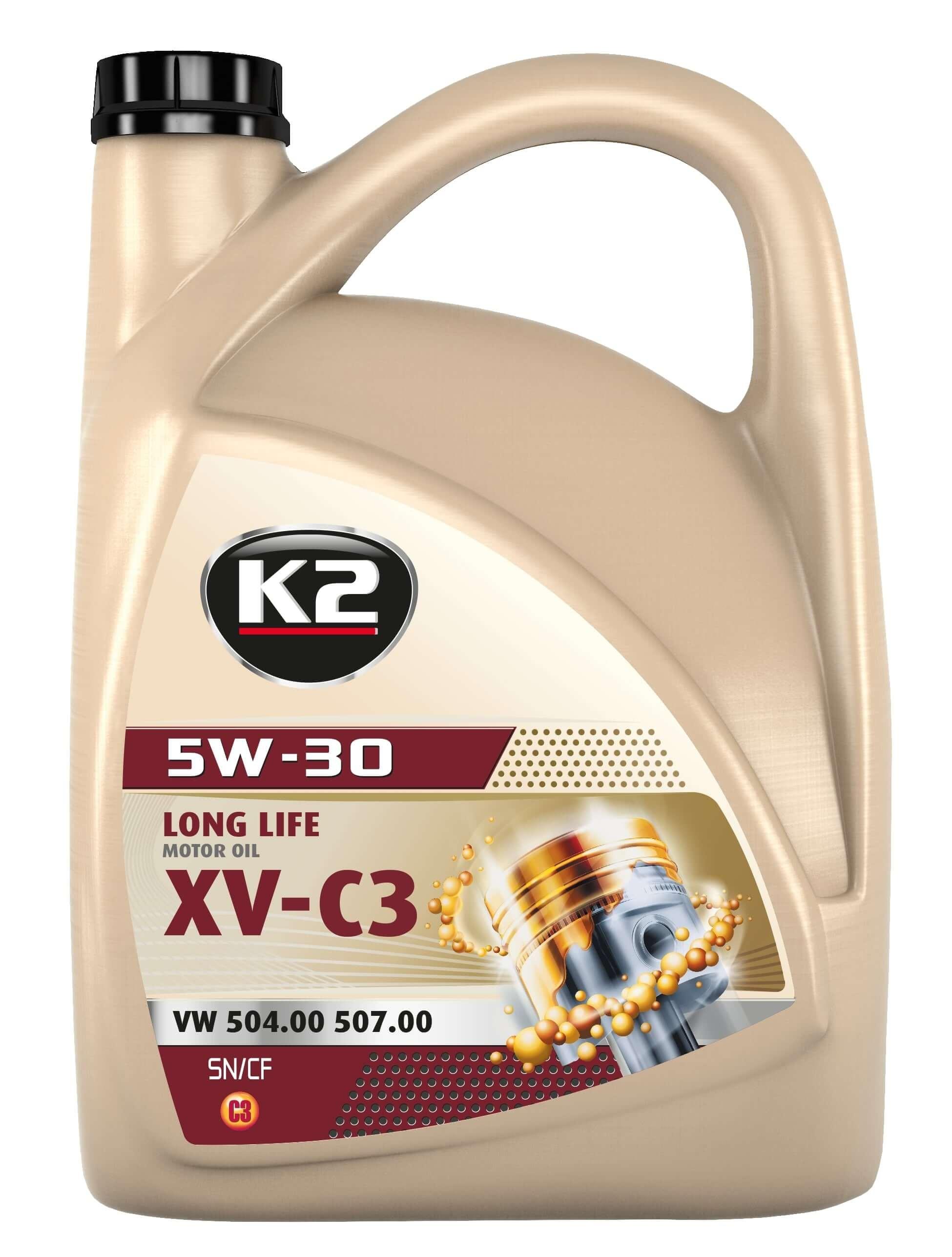 K2 TEXAR 5W-30 XV-C3 5L